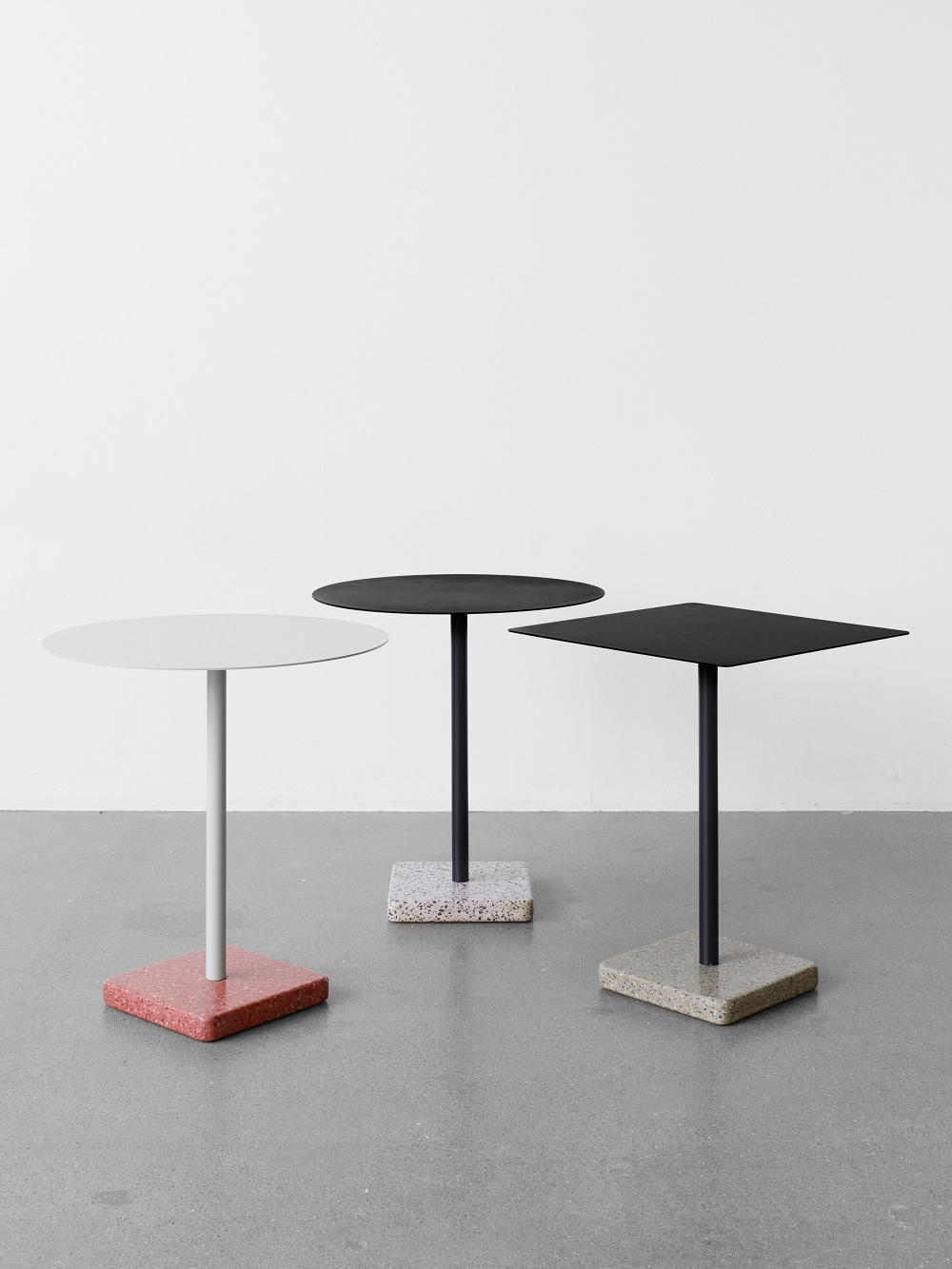 terrazzo table hay dk daniel enoksson studio. Black Bedroom Furniture Sets. Home Design Ideas